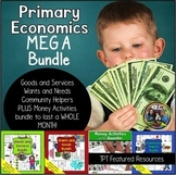 Primary Economics on Community Helpers, Goods and Services and Wants and Needs