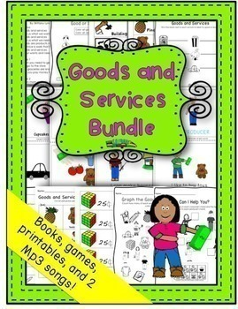 Primary Economics Bundle- Community Helpers, Goods and Services Wants and Needs