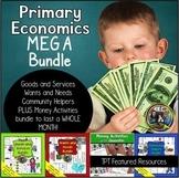 Mega Economics Bundle Distance Learning Packet- Kindergart