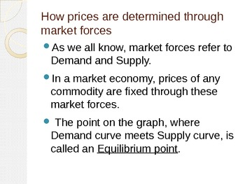 Economics Bundle : Demand, Supply & Elasticity