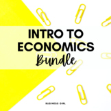 Introduction to Economics Bundle (Business and Marketing)