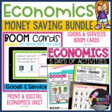 Economics Bundle with Print, for Google Slides, and Boom™ Cards