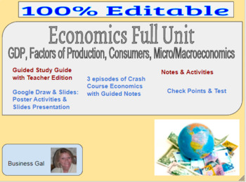 Business study guide teacher edition take a look inside array economics business full unit gdp micro u0026macroeconomics project based rh teacherspayteachers com fandeluxe Image collections