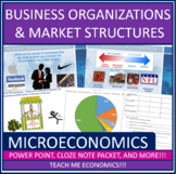 Economics - Business Organizations and Market Structures B