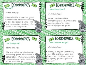 FREE Economics Causation Cards