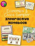 Economics & Civics 3rd Grade Interactive Notebook Sampler FREEBIE
