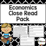 Economics Close Read Pack
