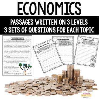 Economics Close Reading