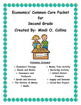 Economics' Common Core Unit for Second Grade