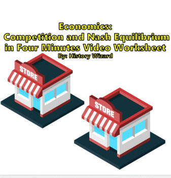 Economics: Competition and Nash Equilibrium in Four Minutes Video Worksheet