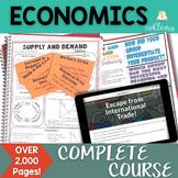 Economics Complete Curriculum Bundle