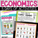 Economics Introduction-Consumer, Producer, Goods, Services, Supply & Demand