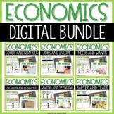 Economics Digital Activities Bundle (Goods, Services, Jobs, Income, and MORE!)
