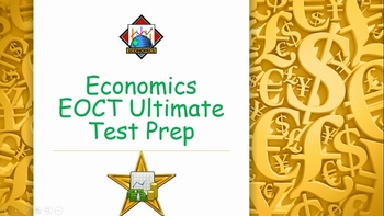 Economics EOCT Ultimate Test Prep {Bundle}