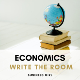 Economics (Economic Indicators + Business Cycle) QR Code Scavenger Hunt