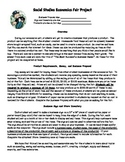 Economics Fair Market Social Studies Activity