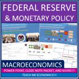 Economics - Federal Reserve Banking Power Point High School Money