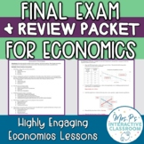 Economics Final Exam & Review Packet