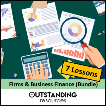 Economics: Firms, Finances  & Types of Company Bundle (7 Lessons)