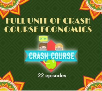 Economics Full Unit Crash Course Economics Videos Guided Notes, & Answer Keys