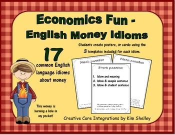 Economics Fun - Money Idioms