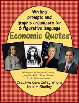 Economics Fun - Quote Writing Prompts