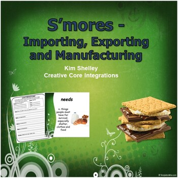 Economics Fun - S'mores Import Export PPT Activity
