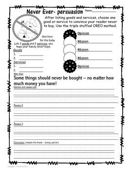 Economics Fun - Writing Prompts