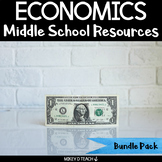 Economics Literacy and Social Studies Activities for Middle School {BUNDLE}