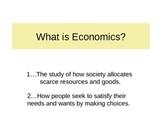 Economics HS Part 1a of 7