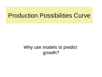 Economics HS Part 1c of 7