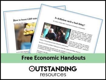 Economics: Handouts to accompany my lessons on Trade and Economic Integration
