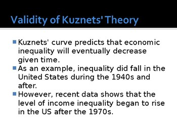 Economics Income Inequality / Distribution / Redistribution / Lorenz Curve PPTs
