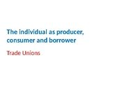 Economics – Individual as Producer, Consumer and Borrower