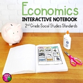 Economics Interactive Notebook for 2nd Grade Social Studies Financial Literacy