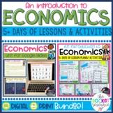 Economics Introduction: Print and Digital BUNDLE!