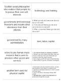 Economics Introduction Unit Flashcards