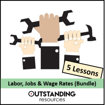 Economics: Labour (labor) Bundle including wage rates, min wage and trade unions