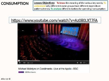 Economics: Lesson 24 - Consumption, Spending (diminishing marginal utility)