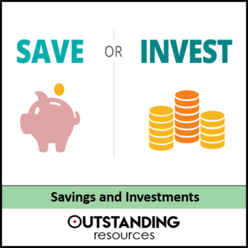 Economics: Lesson 25 - Savings and Investments (+ worksheet)