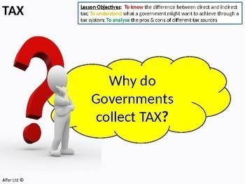 Economics: Lesson 48 - Tax Sources / Common taxes (Government Income)