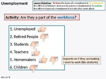 Economics: Lesson 53 - Types, Causes of Unemployment (seasonal, frictional etc)