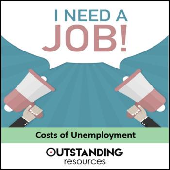Economics: Lesson 54 - Costs of Unemployment (+ resources)