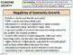 Economics: Lesson 62 - Economic Growth (negatives) + resources