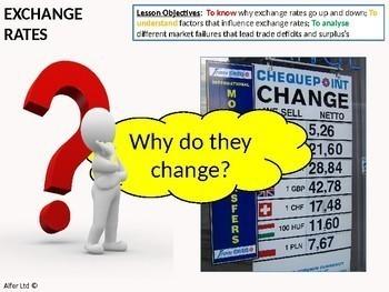 Economics: Lesson 79 - Floating Exchange Rates (Lesson One) + Resources