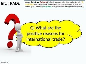 Economics: Lesson 83 - International Trade (Good) Specialisation,Comparative Adv