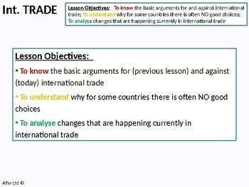 Economics: Lesson 84 - International Trade (Bad aspects) inc. Globalisation