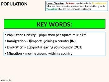 Economics: Lesson 93 - Population Problem/s