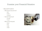 Economics Lesson, Budgeting, Personal Finance, power point