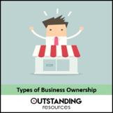 Economics Lesson - Business Ownership (Partnerships, Sole Proprietorship)